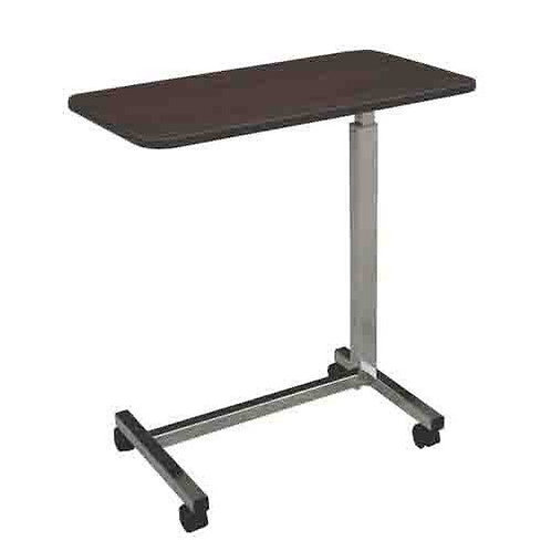 Overbed Table, Adjustable Mobile Rolling Height Angle