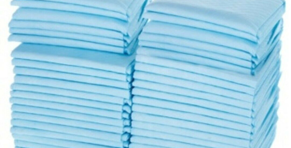 """Disposable Underpads, 24"""" x 17"""", Super adsorbent, Bulk Sales, Free Shipping"""