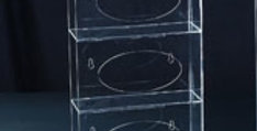 Arcylic Transparent Glove Dispenser, 3-1 Racking Dispenser
