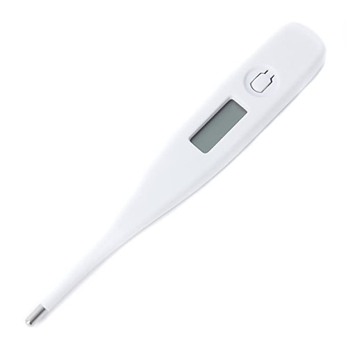 Digital Oral Thermometer, LCD Display