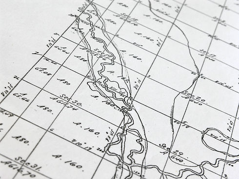 Early Survey map of homestead area.jpg