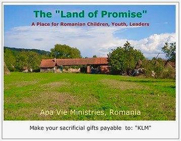 Apa Vie Ministries Romania