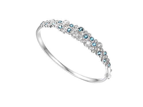 Rhapsody in Blue Bangle Topaz Silver 9059SILCZ/LBT