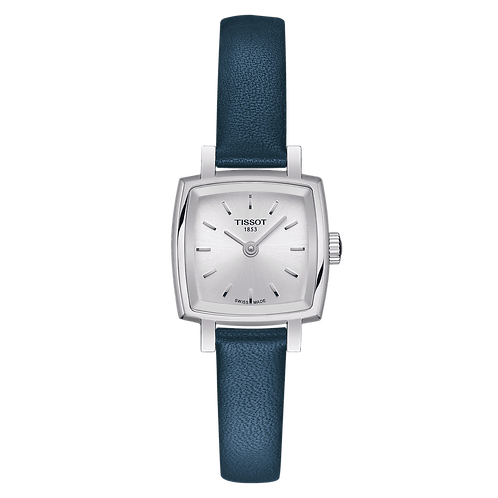 Tissot Lovely Square Blue Leather Strap T058.109.16.031.00
