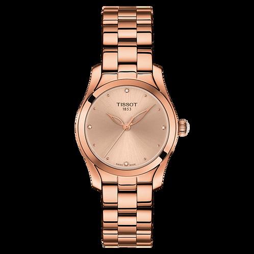 TISSOT T-WAVE ROSE GOLD T1122103345600