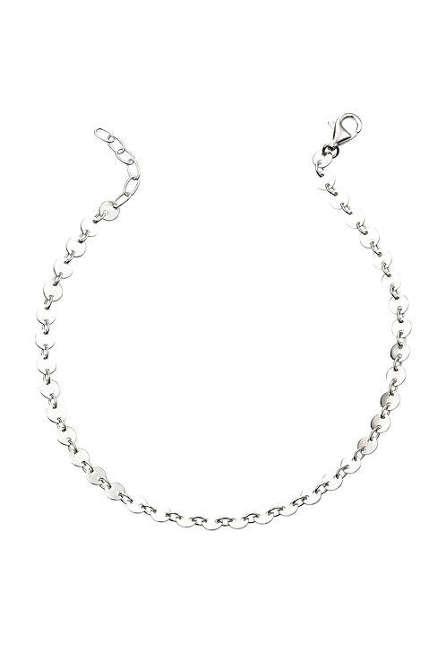 Fine Sterling Silver Disc Bracelet B5179