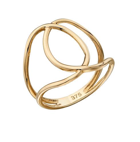 Interlocking Circle Ring