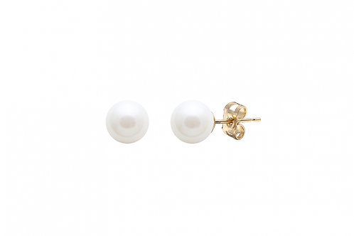 Cultured River Pearl Earring Studs Small