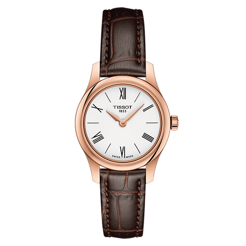 TISSOT TRADITION  LADY LEATHER T0630093601800