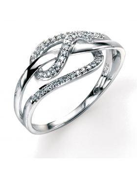 Pave Loop Ring