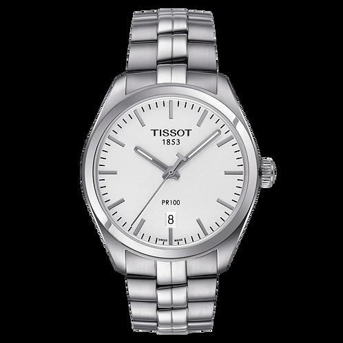Tissot PR 100 Stainless Steel Wrist Watch T1014101103100