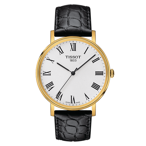 Tissot Everytime Medium Wrist Watch Black Strap T1094103603300