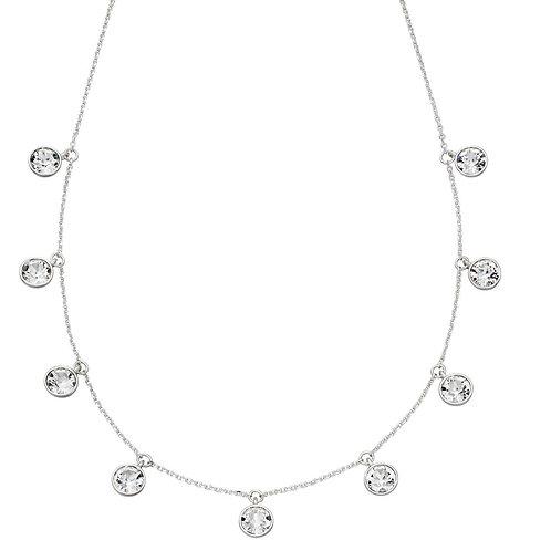 Multi Drop Crystal Necklace CZ N4311C