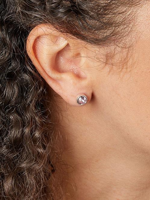 June Birthstone Stud Earrings