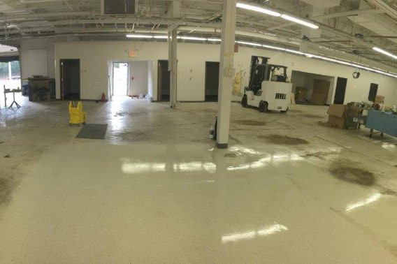 Commercial cleaning demo completed