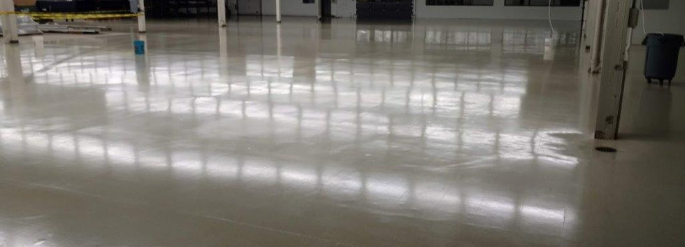 After picture of commercial cleaning