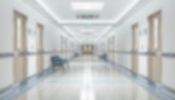 vinyl floor in medical building