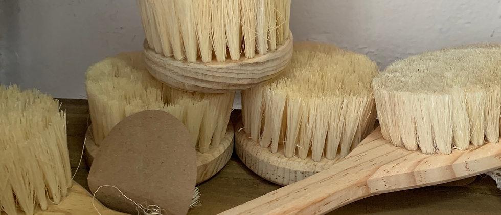 Cepillo corporal para cepillado en seco