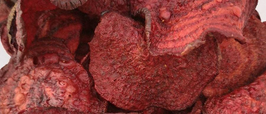 Chips de betabel horneado a granel