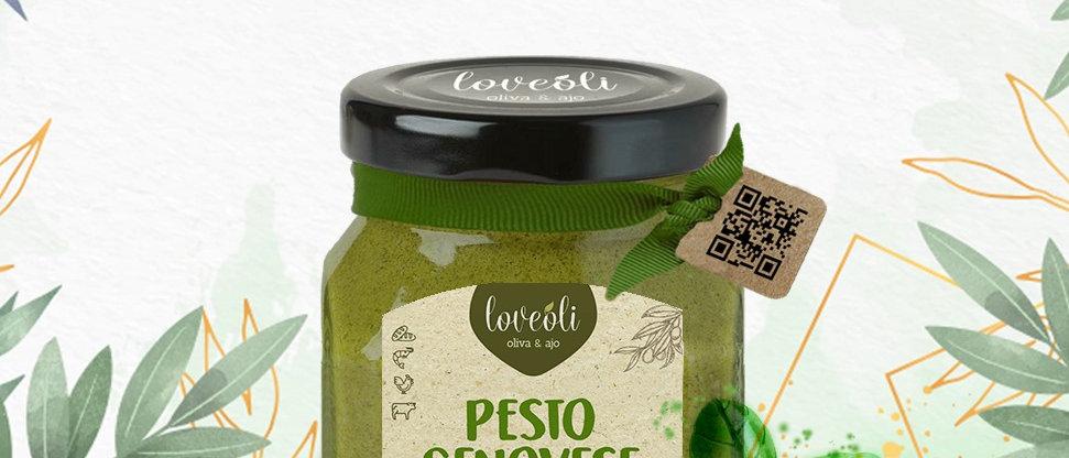 Salsa Pesto de Albahaca orgánica