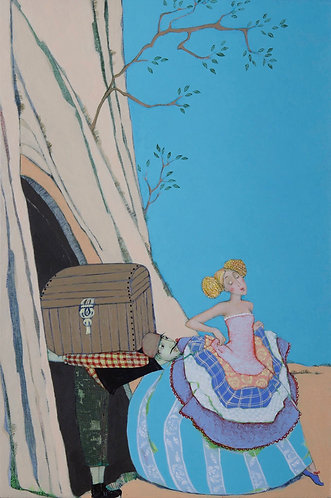 La princesse - 30x20 cm