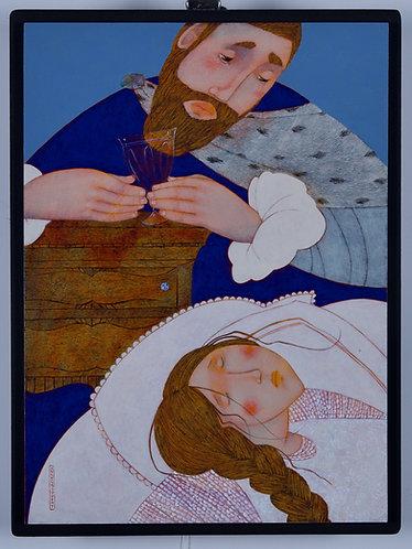 Maladie d'amour - 35x26 cm