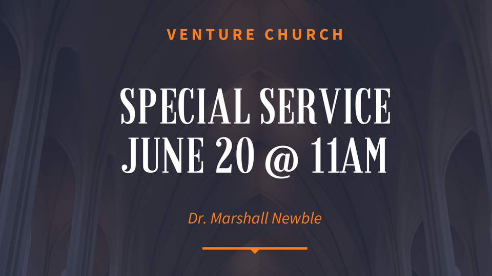Dr Marshall Newble Father's Day Service