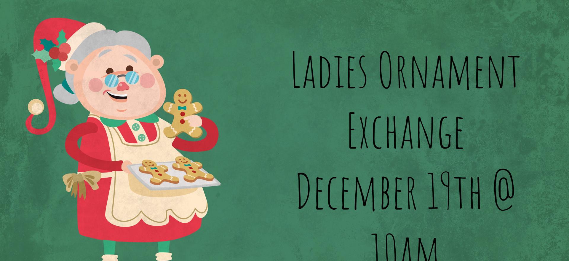 Ladies Ornament Exchange