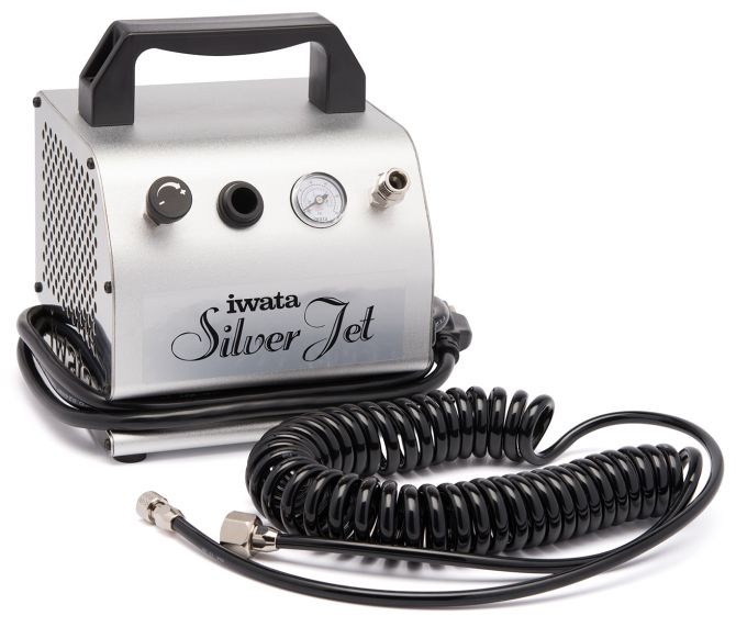 Iwata Silver Jet Airbrush Compressor