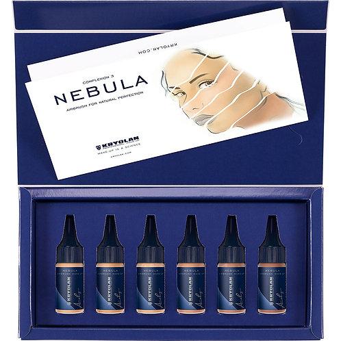 Kryolan NEBULA Mortuary Airbrush Cosmetic Set 3