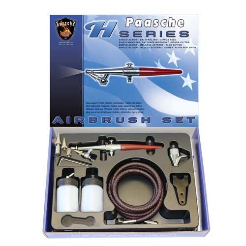 Paasche H Series Airbrush Set
