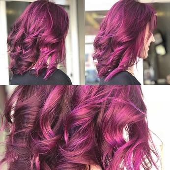 #unicornhair  #violethair 🦄 😍😍.jpg