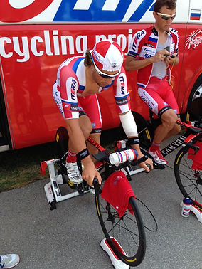 Katusha Recovery at the Tour of Austria.