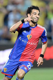 FC Basel Goal M Saled Champions League v