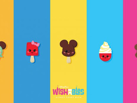 Disney Parks Blog Wallpaper Series Features New Wishables Collection of Mickey-Shaped Treats