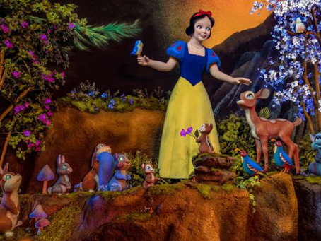 Spot the Woodland Creatures Inside Snow White's Enchanted Wish at Disneyland Park