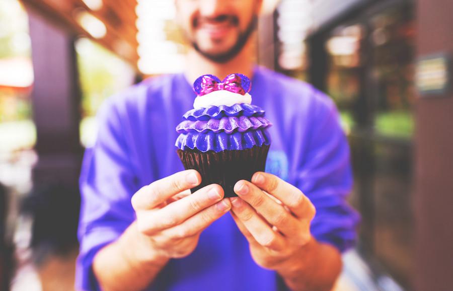 Purple Minnie Cupcake