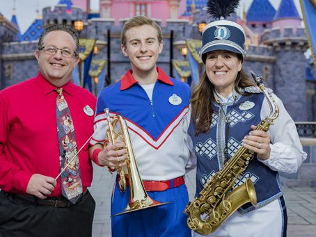 The Beat Goes On with the All-American College Band at Disneyland Resort