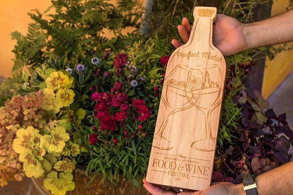 Disney Food & Wine Festival Cutting Board