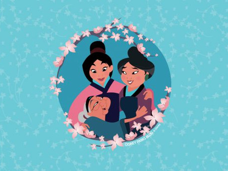 Celebrate Mother's Day With Our 'Three Generations' Wallpaper Inspired by 'Mulan'