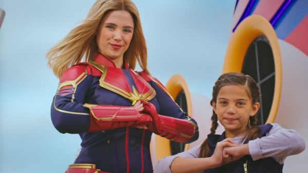 Captain Marvel HigherFurtherFaster