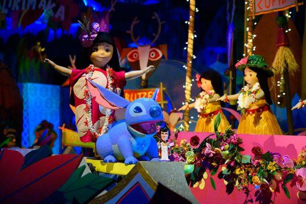 """it's a small world"" Lilo, Stitch & Elvis"
