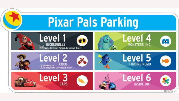 Pixar Pals Parking