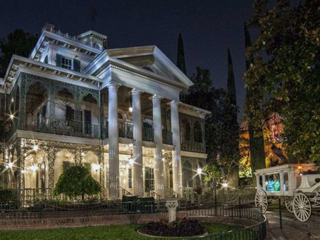 Check out how Disney made America's most famous haunted house