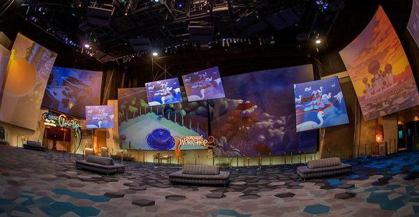 Animation Building Lobby