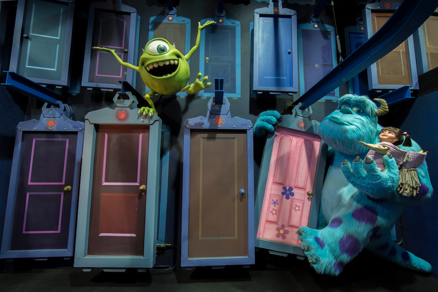 Mike, Sulley, and Boo