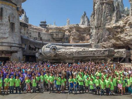 Anaheim Children Among First to Experience Star Wars: Galaxy's Edge in Disneyland Park