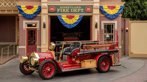Disneyland Fire Engine