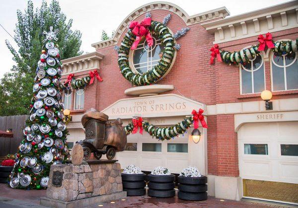 Radiator Springs at Christmas
