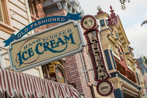 Disneyland Ice Cream